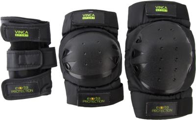 Комплект защиты VINCA SPORT VP 32 (защита колена, локтя, запястья)