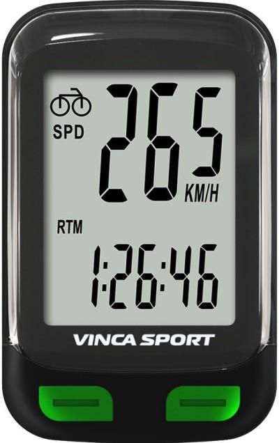 Велокомпьютер VINCA SPORT V-3500 (black/green)