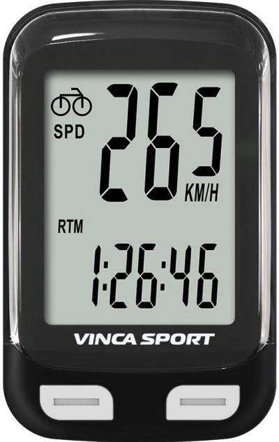 Велокомпьютер VINCA SPORT V-3500 (black/white)