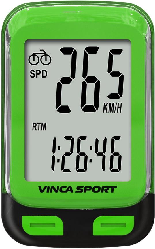 Велокомпьютер VINCA SPORT V-3500 (green)