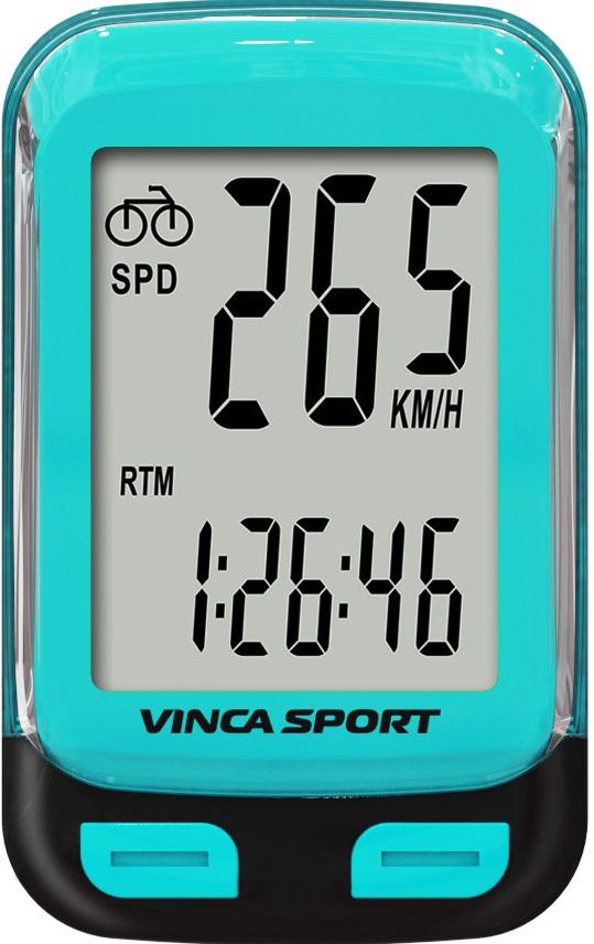 Велокомпьютер VINCA SPORT V-3600 (blue)