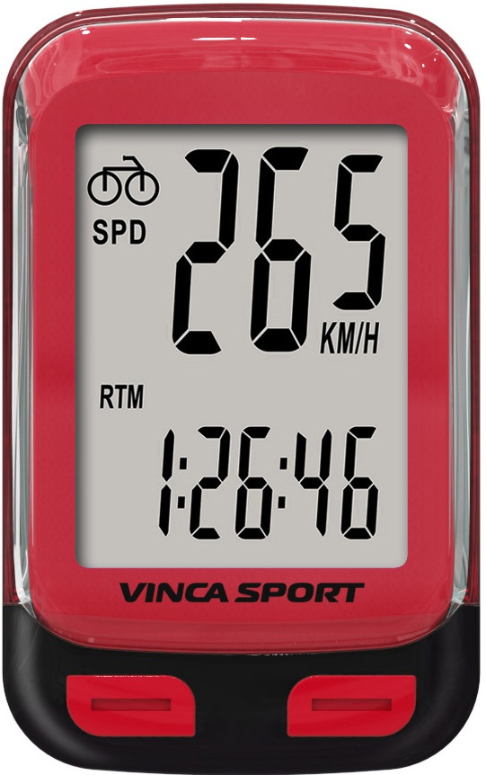 Велокомпьютер VINCA SPORT V-3600 (red)