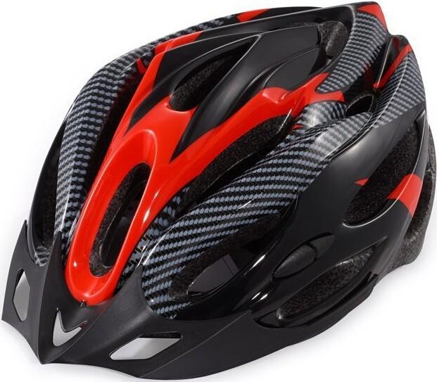 Велошлем BHP Classic (black/red)
