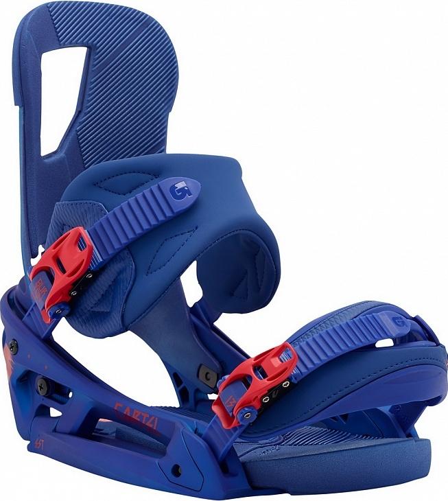 Крепления сноубордические BURTON Cartel EST super blue (2015)