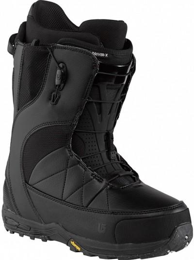 Ботинки сноубордические BURTON Driver X black (2015)