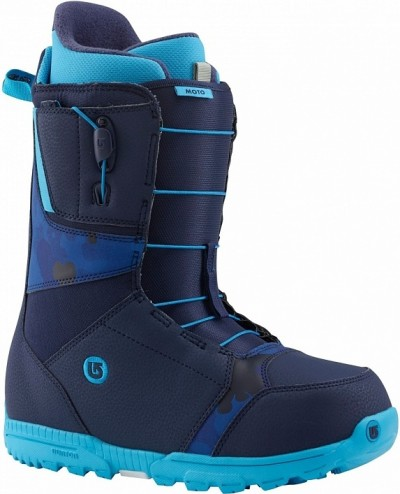 Ботинки сноубордические BURTON Moto blue (2015)