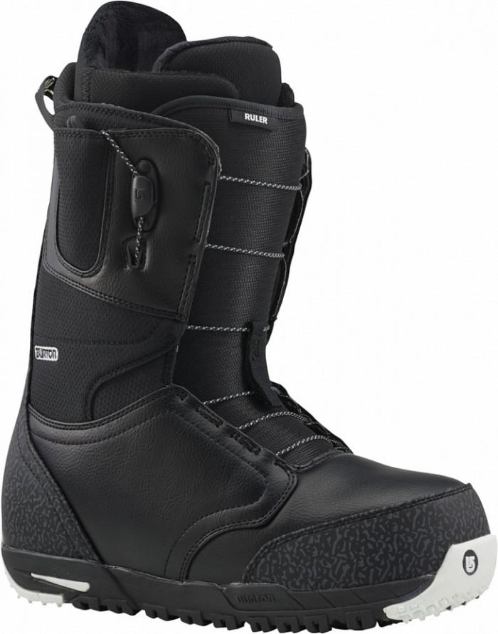 Ботинки сноубордические BURTON Ruler black/white (2015)