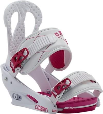 Крепления сноубордические BURTON Sitizen white (2015)