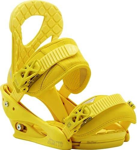 Крепления сноубордические BURTON Stiletto yellow (2015)