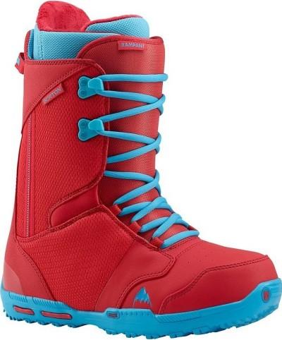 Ботинки сноубордические BURTON Rampant red/blue (2015)