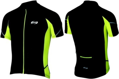 Веломайка BBB ComfortFit Jersey (black/yellow)