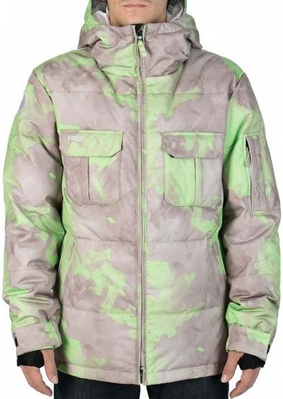 Куртка пуховая VIRUS Frost (aqua/gray)