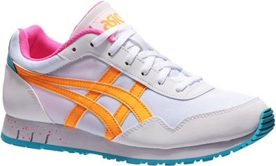 Кроссовки ASICS Curreo (white/pop orange)