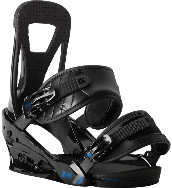 Крепления сноубордические BURTON Freestyle black (2014)