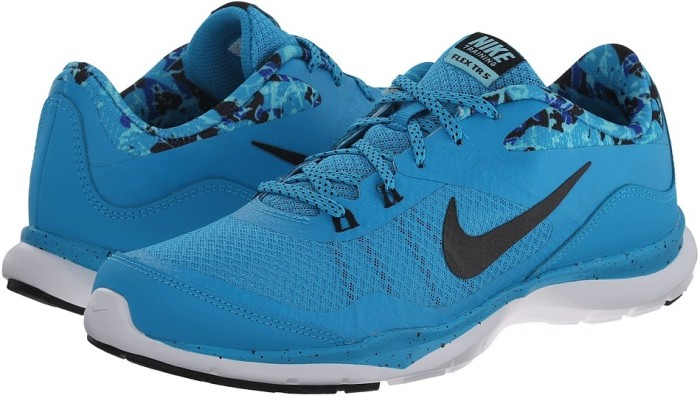 Кроссовки NIKE Flex Trainer 5 Print (blue lagoon/black)