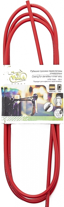 Рубашка тросика переключения VINCA SPORT VSC 4 (red) 2 метра