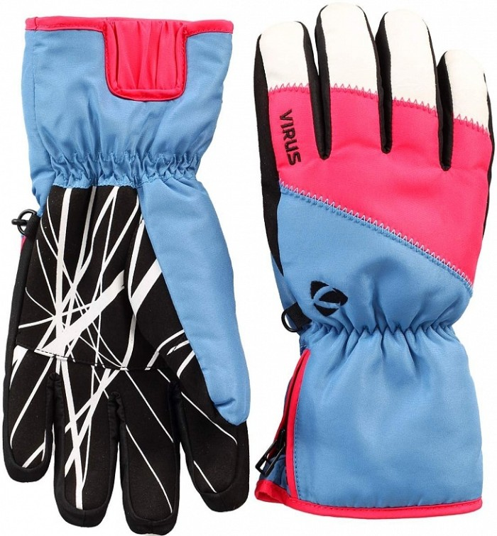 Перчатки VIRUS Trail (blue/pink)