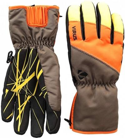 Перчатки VIRUS Trail (khaki/orange)