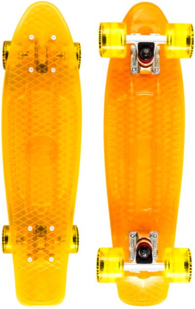 Круизер TECH TEAM Transparent (orange)