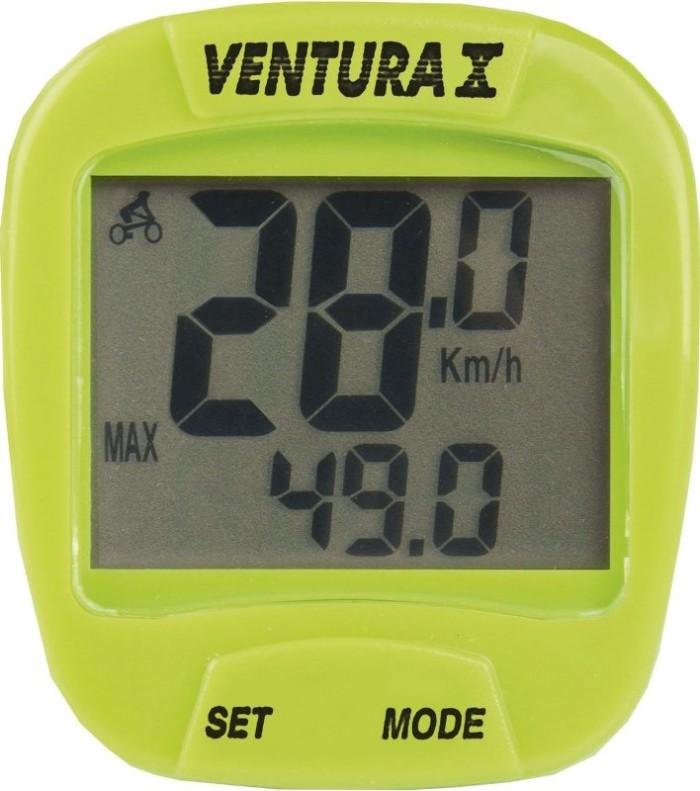Велокомпьютер VENTURA X (green)