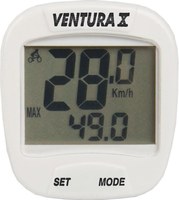 Велокомпьютер VENTURA X (white)
