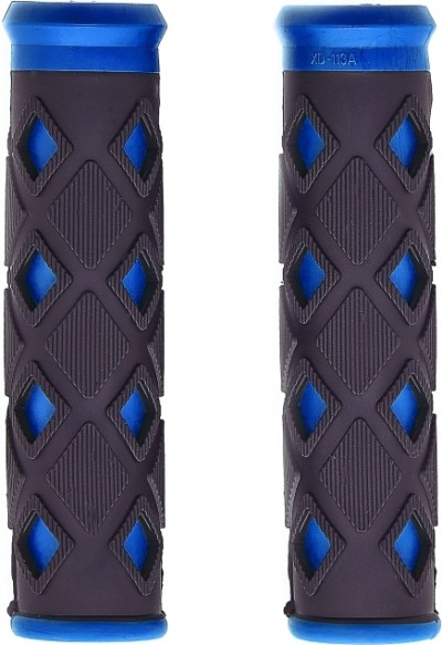 Грипсы VINCA SPORT HL-G 25 (black/blue)