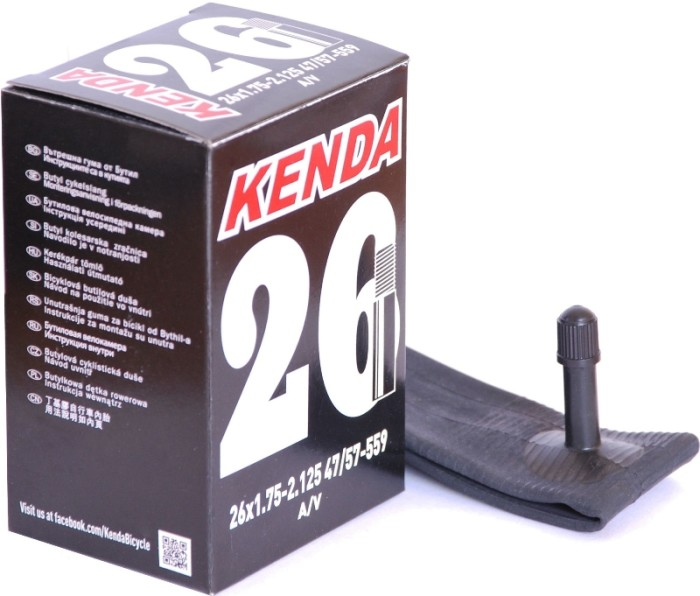 Велокамера KENDA 26х1.75/2.125 A/V (автониппель)