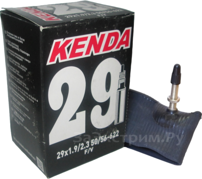 Велокамера KENDA 29х1.90/2.30 F/V (велониппель)