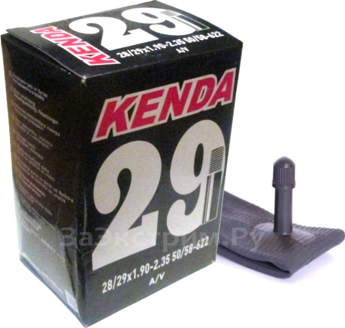 Велокамера KENDA 29х1.90/2.35 A/V (автониппель)