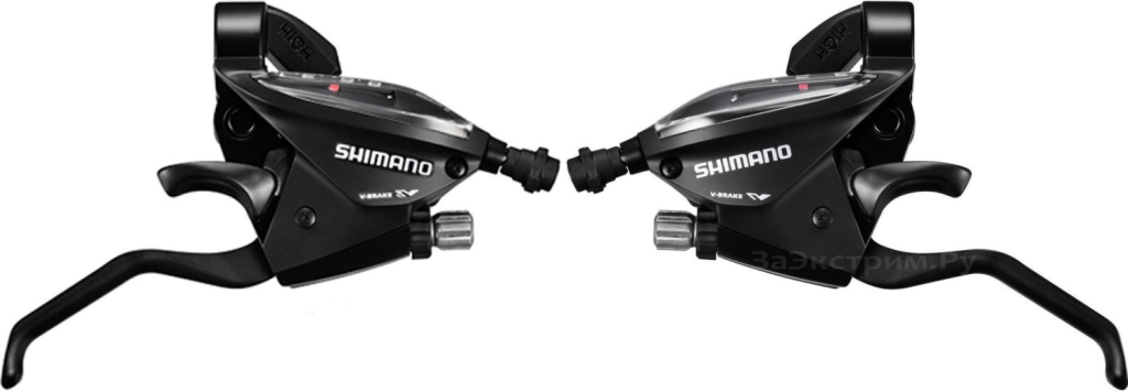 Манетки SHIMANO Tourney ST-EF510 (3x7) комплект