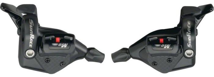 Манетки SunRace DL-M53 (3x8) комплект