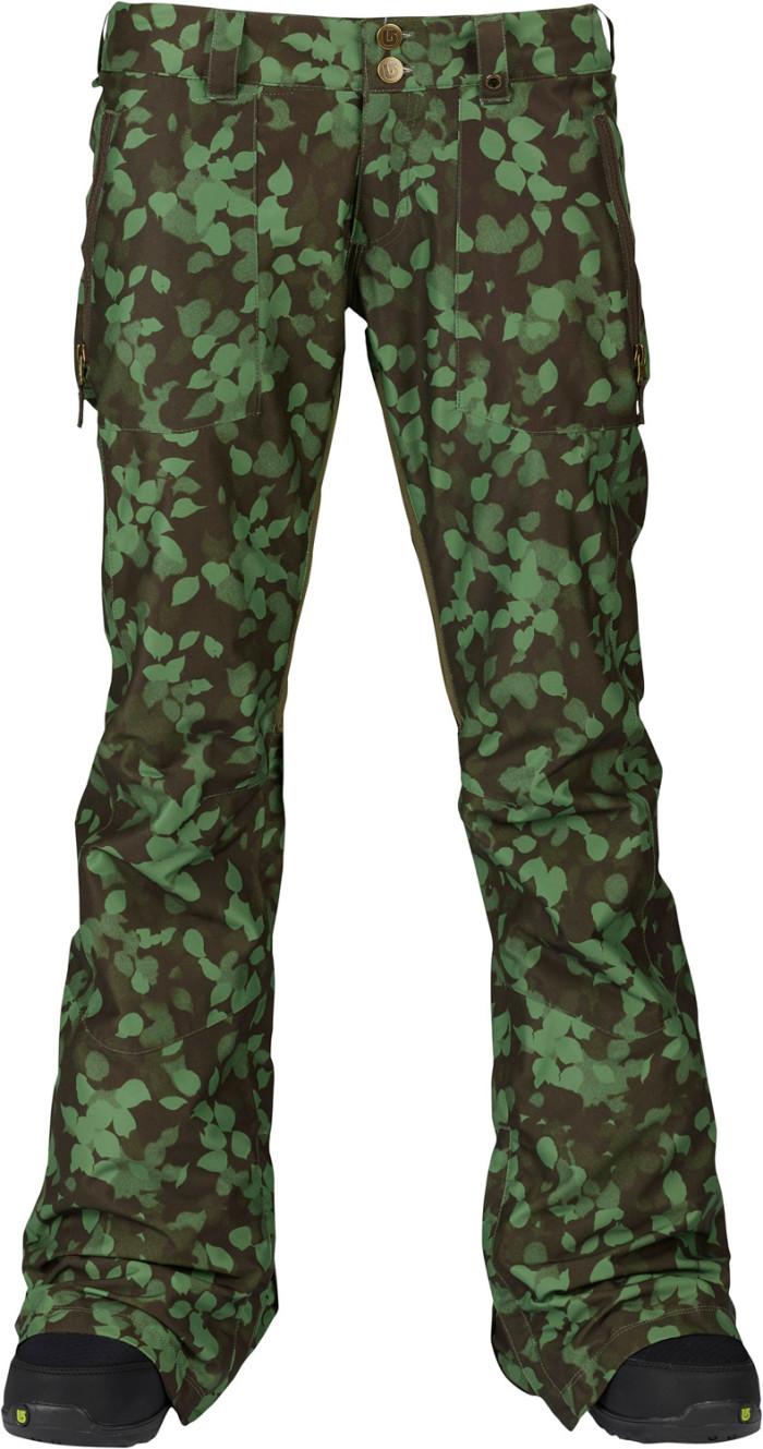Брюки BURTON Skyline W (camoufoliage)