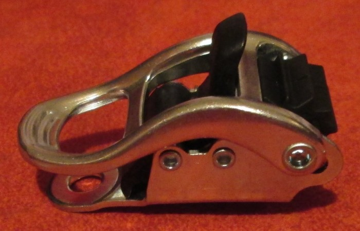 Бакля для сноубордических креплений алюминиевая передняя