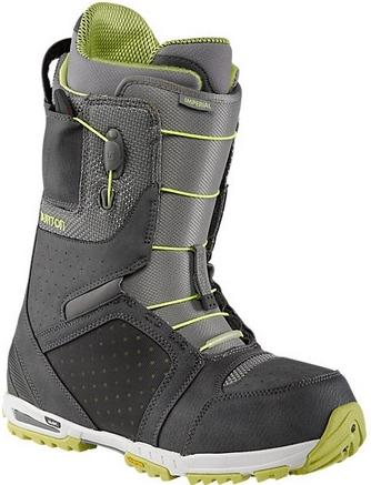 Ботинки сноубордические BURTON Imperial (gray/lime)