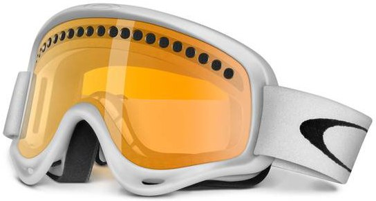 Маска O-Frame XS (matte white/persimmon)