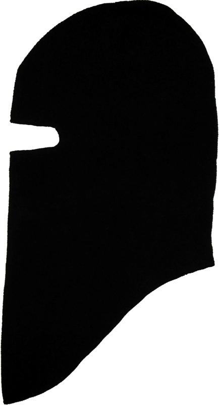 Балаклава (подшлемник) флисовая TEMP black