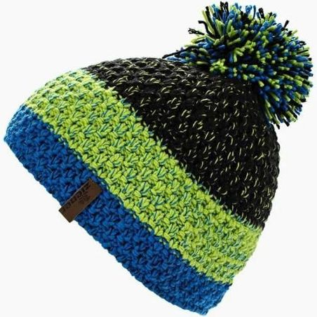 Шапка ZIENER Hat Intercontinental (black/lime green)