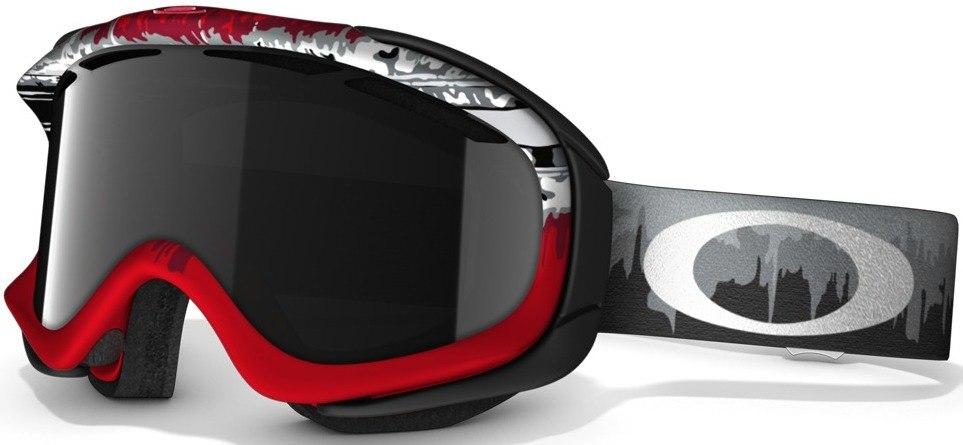 Маска Ambush Shock Wave red/grey (dark grey)