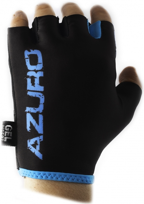 Велоперчатки VINCA SPORT New Azuro (black/blue)