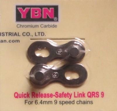 Замок цепи YBN QRS 9 для 9 скоростных цепей