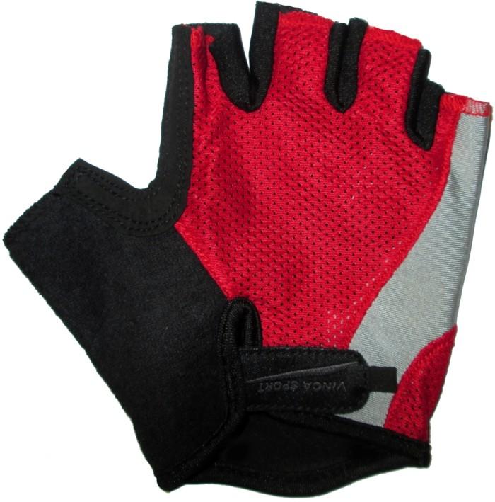 Велоперчатки VINCA SPORT VS 936 (red)