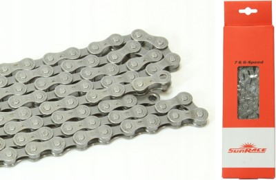 Цепь SunRace CNM54 7-6 ск. (gray)