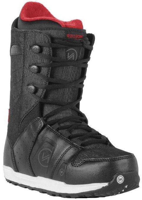 Ботинки сноубордические NIDECKER Charger Lace (black)