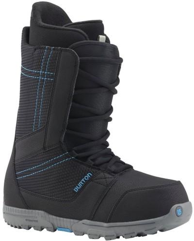 Ботинки сноубордические BURTON Invader (black/cyan)
